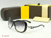 New style Woman brand eyewear fashion frame summer sunglasses come with original box ,free shipping ,mix order