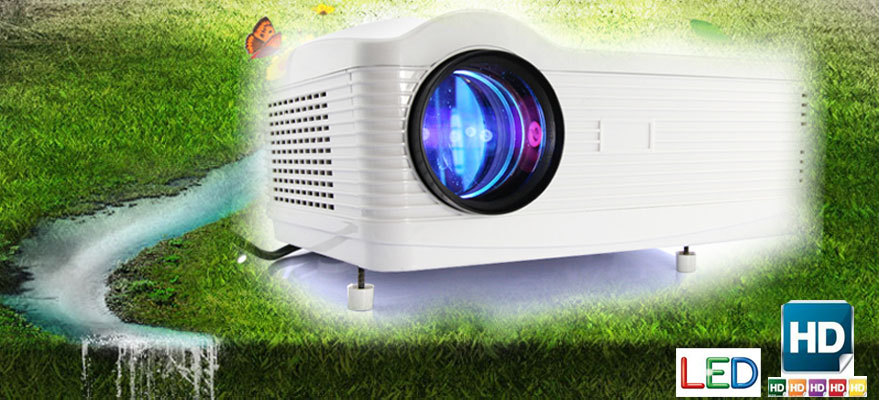 full hd tv led 3d projector with resolution 1280*800 Pixels usb/ sd card reader 3000 lumens factory Original(China (Mainland))