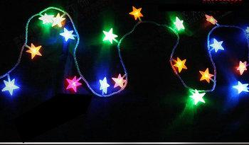 Christmas supplies lantern 100 Christmas led lamp christmas tree decoration lamp led lights flasher