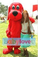 the Big Red Dog Clifford mascot costume