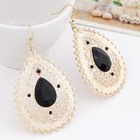 Bohemia fashion elegant cutout drop earrings oversized earrings vampish