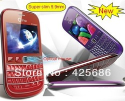 Venus ,optical mouse,new mobile phone ,new querty phone,QWERTY Keyboard cell phone:TV+Bluetooth+FM+Camera+Dual SIM card(China (Mainland))