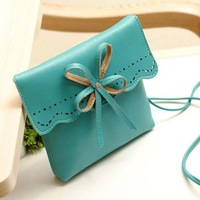 Free Shipping ! 2013  fashion lady bags,women handbags ,Bowknot is female bag ,with PU leather ,  TB-016