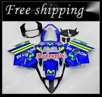 Customized fairing -Free ship MOVI Fairing kit for 1998 1999 2000 2001 Honda VFR800RR interceptor VFR800 VFR 800 98 01