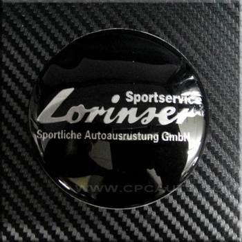 Car Truck WHEEL Badge Emblem Sticker Lorinser for  Mercedes benz ~4 PCS SET~