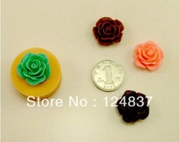 3D Mini rose Flower 1.8cm Silicone soap Handmade mold webbing/party decoration cake tools DIY fondant wholesale