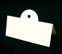 White paper card/Gift Hang tag/price Merchandise tag 9.2cm wholesale Free Shipping