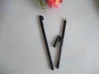 Free DHL/EMS 5-9days120PCS/LOT good quality tecanakohl liner eyeliner kajal pencil black eyeliner pencil make up tool