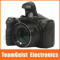 "3.0"" inch color TFT LCD Digital camera DSLR / Digital video camcorder 16.1 MP 15X optical zoom Digital Photo Frame Free Shipping"