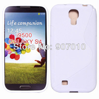 New Arrive 100pcs Galaxy SIIII Anti-skid design tpu case, Nes S Line Soft TPU Case for Samsung Galaxy SIIII S4 i9500