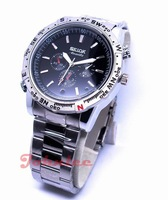 Free shipping 8GB waterproof Watch camera, with retail box with 5 pcs/lot