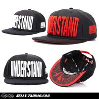 Yums big letter base plate print hiphop snapback hiphop street baseball cap