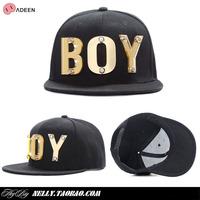 fashion nyc gd flat-brimmed hat flat cap hiphop cap hip-hop hat baseball cap boy