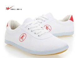 Amphiaster shoes martial arts shoes tai chi shoes practice shoes kung fu shoes cow muscle outsole canvas shoes female(China (Mainland))