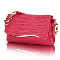 Bags women's day clutch bag plaid chain women's handbag solid color messenger bag small