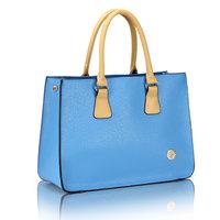 Women's handbag 2013 fashion big bag commercial work ol female bag handbag color block fructose bag