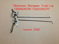 Genuine New Free Shipping  For lenovo Z360 Left  Right Screen Lcd  Hinges Bracket  Set