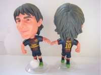 Free shipping star Lionel Messi doll doll