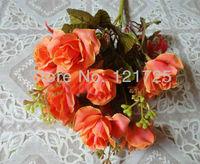 artificial bouquet  flowers,rose