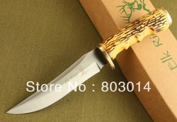 browning 2230 Elk Ridge knife:copper and bone handle nylon bag and box packaging(China (Mainland))