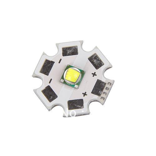 New 10PCs/Lot-10W CREE XM-L T6 LED Emitter 1000 Lumens Flashlihgt DIY Accessory (3.7V, 20mm Base)-Fast Shipping(China (Mainland))