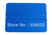 3M Plastic Blue color Car vinyl Film sticker wrapping tools flexible Scraper squeegee size 10.00 cm*7.3 cm Fedex Free shipping