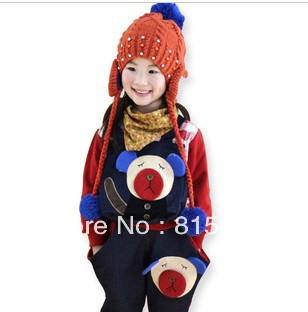 In the spring of 2013 the new han edition boy girl teddy bear sports leisure suit, free shipping