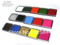 Free shipping 15pcs/lot inkpad/colorful inkpad/