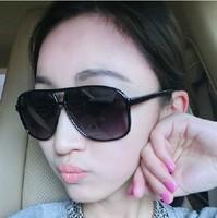 new arrivalToad glasses sunglasses big box retro black sunglasses 5pieces/pack A1230hot selling