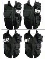 military uniform Swat tactical vest swat vest black plus size plus size tatico