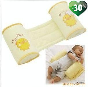 Hot baby pillow infant shape pillow/correct the flat head/anti-roll pillow +(China (Mainland))