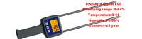 цифровой хлопка хлопка сырца влаги метр ЖК-тестер tk100c 7-40