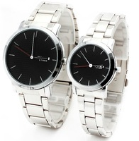 Hot sale! 100% EYKI brand watches Lover's Couple watches men women High quality stainless steel Wristwatch 8410A one pair
