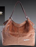 Ar026 Promotion! Special Offer Fur Leather Restore Ancient Inclined Big Bag Women vintage Handbag Bag Shoulder Free Shipping