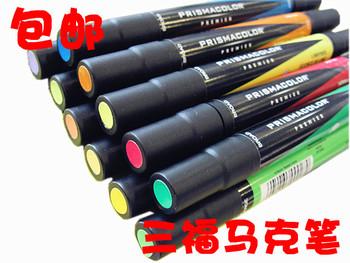 free shipping American sanford mark pen double slider oil-based marker touch 3 vivendi 30