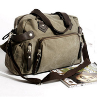 2014 HOT!! Portable canvas bag man bag vintage bag bag shoulder bag casual bag messenger bag travel bag free shipping