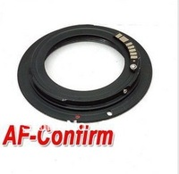 Free Shipping AF Confirm Lens Mount Adapter Ring  Lens Adapter for M42 Lens and Canon EF 550D 50D 7D