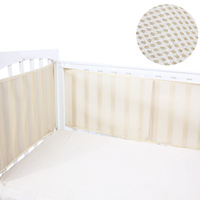 Crib 3d bed around baby bed around bedding piece set fence breathable summer bed around