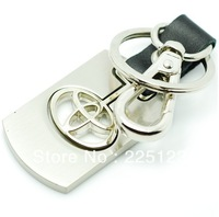 Activities LOGO alloy keychains  car key chains with box For TOYOTA free shipping
