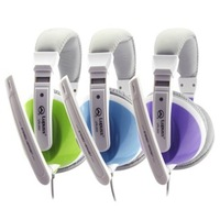 Lp high quality headset computer earphones headset big earphones earmuffs multicolour earphones