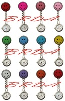 Battery 10 smiley nurse watch medical nurse table nurse watches table