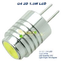 10xNew G4 12V DC 1.5W High Power LED LAMP Bulb 180 Degree 1.5W Equal  white