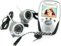 4 Channels 2.5 inch TFT Screen Baby Monitor with 3x 1/3 color CMOS Camera