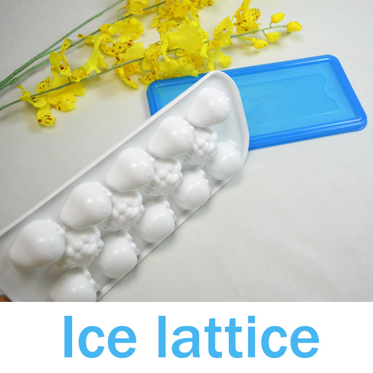 wholesale Max Home cheap sale Hot Summer ice lattice ice mold Creative DIY Home apple personality of Ice Tray(China (Mainland))