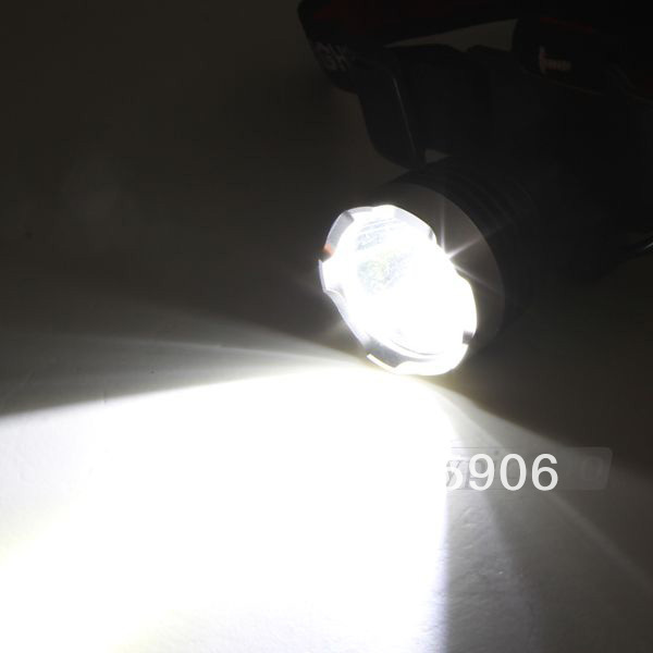 Free shipping CREE XM-L T6 LED Flashlight Headlamp Head Light Lamp 1000Lm 3 Modes(China (Mainland))