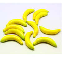 The foam fruit banana for decoration or toy  FBA02H170P07-H