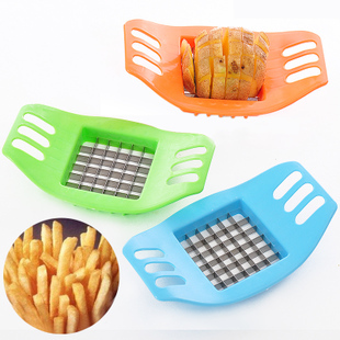 Stainless steel manual cutting french fries device french fries potato chips french fries machine fruit knife(China (Mainland))
