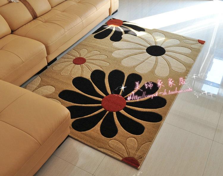 Floral elegante alfombra grandes alfombras para sala de - Casa de las alfombras ...