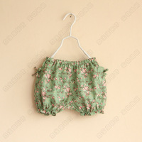 2013 New arrival   Girls shivering short girls baby bloomers nice 6pcs/lot