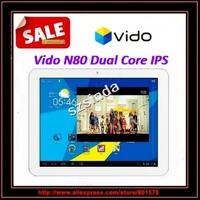 Original Vido N80 IPS  RK3066 dual core dual camera 2.0MP Wifi HDMI 1GB RAM 16GB tablet pc / Anna